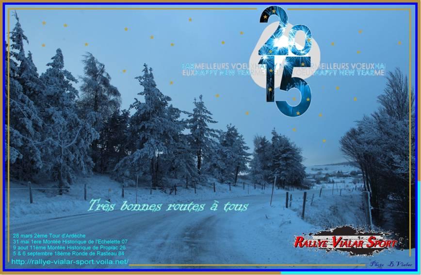 Bonne Année 2015 Rallye Vialar Sport