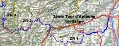 Cartes Tour d'Ardèche 2015 /!\ ZR 11 modifiée /!\ ZR 11 modifiée en rouge  […]