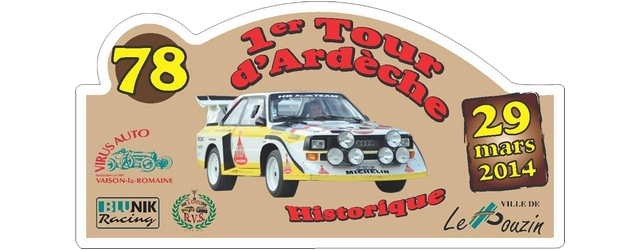 Clic CLASSEMENT FINAL TOUR D'ARDECHE 2014